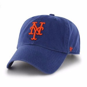 47 BRAND METS ROYAL CLEAN UP STRAPBACK