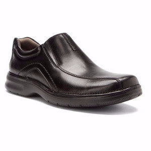 "Clarks ""Pickerton"" Men's Leather Casual Slip-on"
