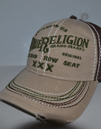 "True Religion ""XXX"" Printed Baseball Cap - TR1009"