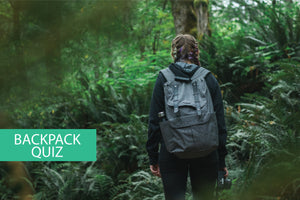 Quiz: Best backpack for you based on your daily activities