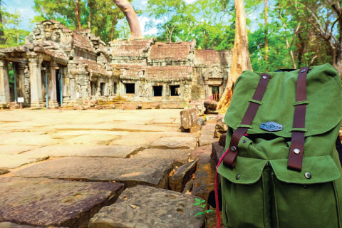 TruBlue Backpacks Take Over Asia