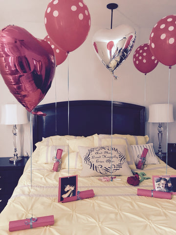 Room Decor with ballons