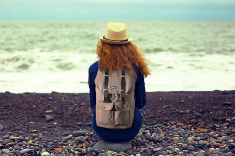 travel canvas backpack