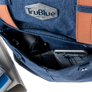 The Patriot by TruBlue - The Dependable Water Repellent Everyday Backpack, Niagara