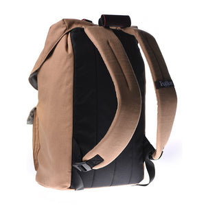 "TruBlue The Original+ Adaptable Backpack for 15.6"" Laptops, Sedona/Leather"
