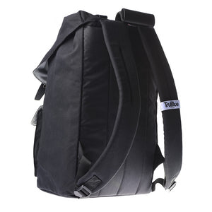 "TruBlue The Original+ Adaptable Backpack for 15.6"" Laptops, Blackout/Leather"