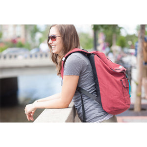 college canvas backpacks