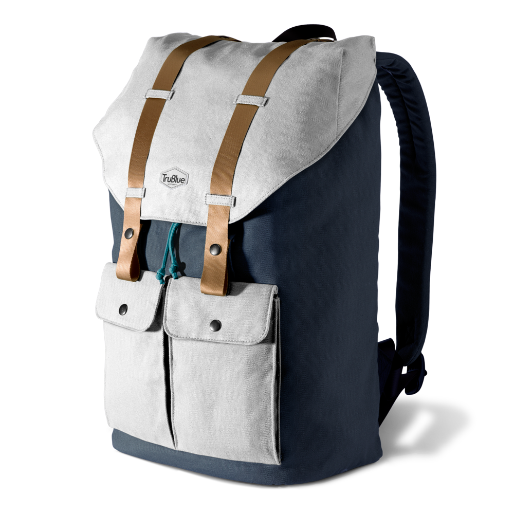 5c59ba414197 The Original Marina by TruBlue  Adaptable Canvas Backpack