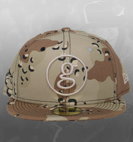 NEW ERA SIGNATURE SERIES 59FIFTY HAT - WOODLAND CAMO **