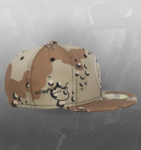 NEW ERA SIGNATURE SERIES 59FIFTY HAT - 6DAY CAMO **