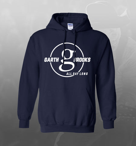 Garth Brooks All Day Long Hooded Sweatshirt