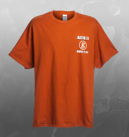 Garth Brooks World Tour AUSTIN Event Tee