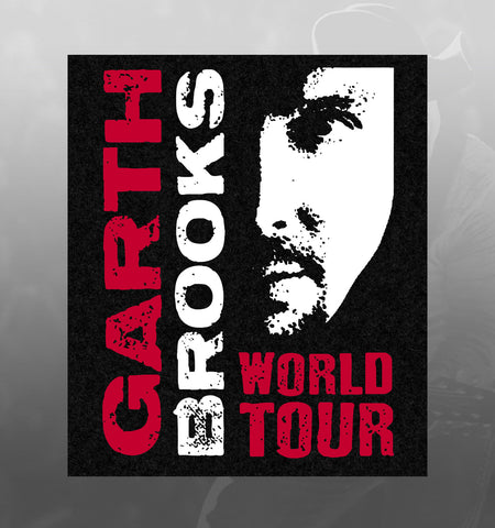 "World Tour Commemorative Pick Set - ""Garth Brooks"" & ""The Dance"" with pick bag"