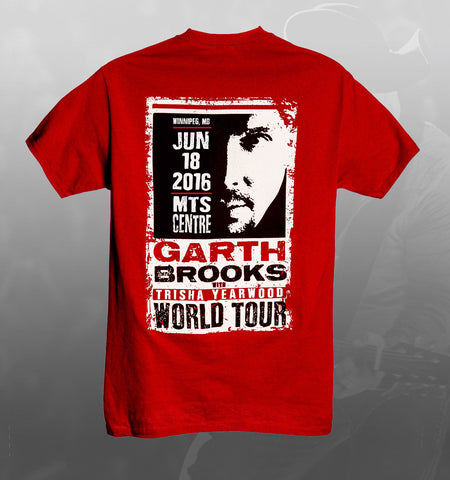 2016 World Tour WINNIPEG Event Tee