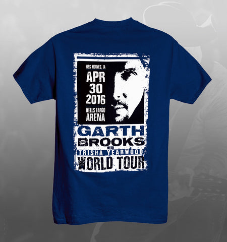 2016 World Tour DES MOINES Event Tee