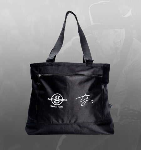 GB World Tour Zip Tote Bag