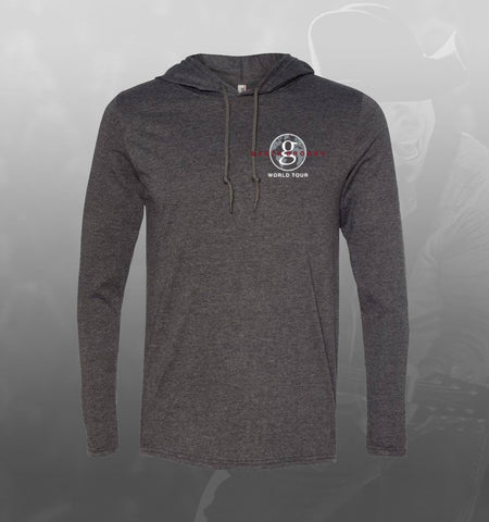 NEW GB World Tour Hooded T-shirt - Grey/Red