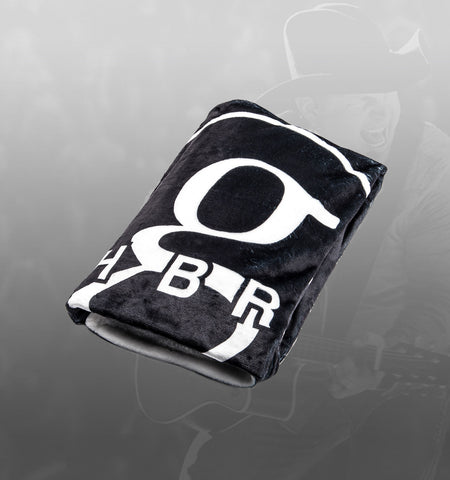 NEW - GB World Tour blanket - black