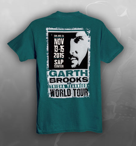 2015 World Tour SAN JOSE Event Tee
