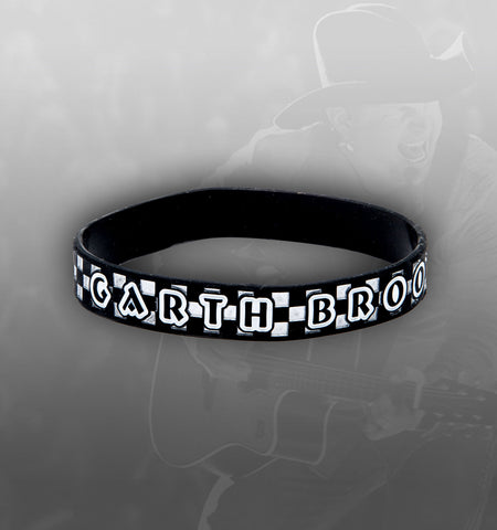NEW - World Tour Checkered Rubber Bracelet
