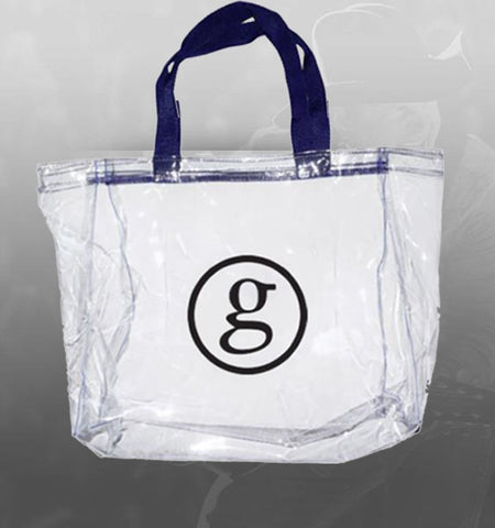 Circle G Clear Plastic Tote