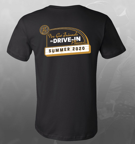 NEW! DRIVE IN CONCERT PHOTO TEE