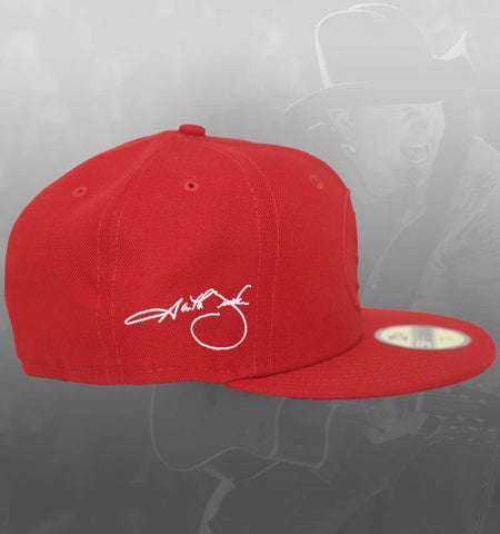 NEW ERA SIGNATURE SERIES 59FIFTY HAT - RED**