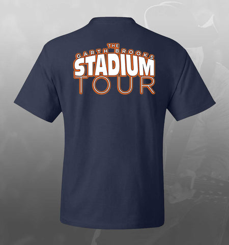 NEW!  Blue/Grey STADIUM TOUR Raglan