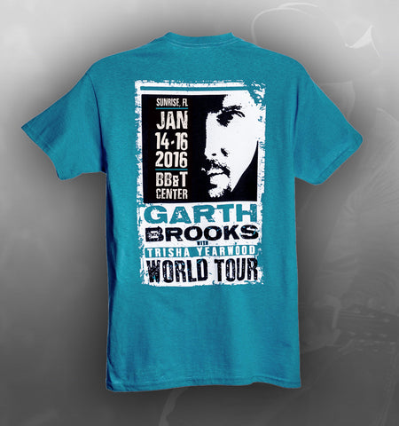 2016 World Tour SUNRISE, FL Event Tee