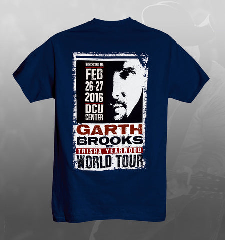 2016 World Tour WORCESTER Event Tee