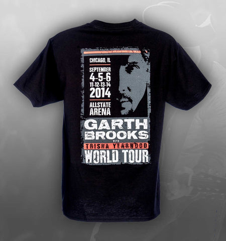 2014 World Tour CHICAGO Event Tee