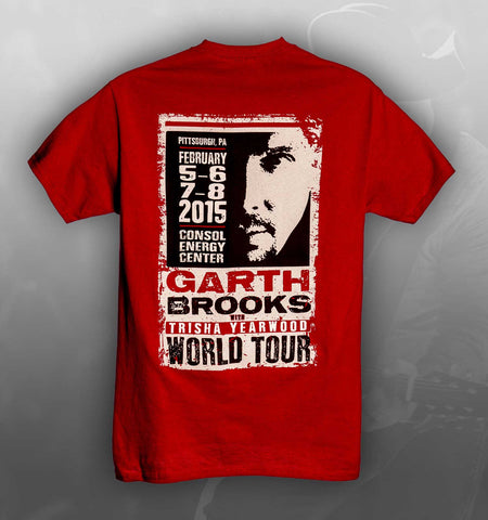 2015 World Tour PITTSBURGH Event Tee
