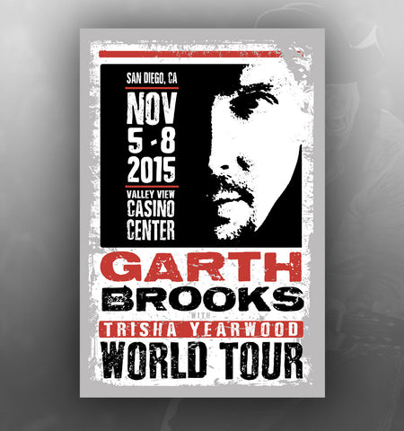 2015 World Tour SAN DIEGO Event Poster