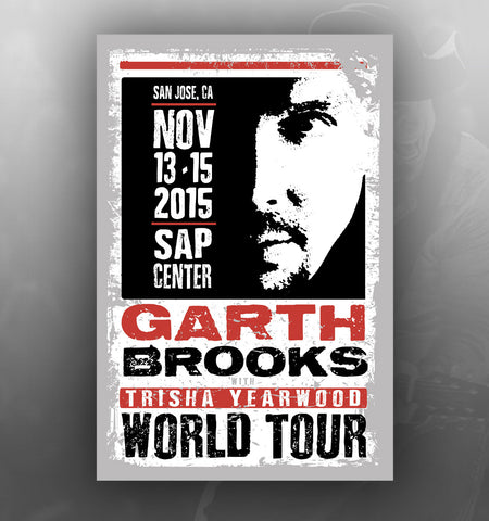 2015 World Tour SAN JOSE Event Poster