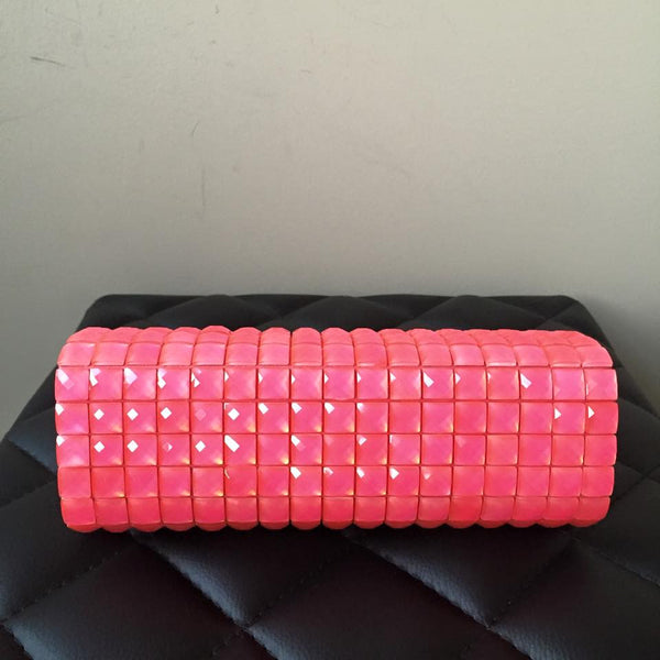 Kate Spade Limited Edition Pink Crystal Clutch