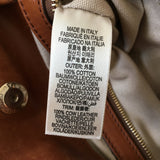 Burberry Brown Check Canvas/Leather Shoulder Bag