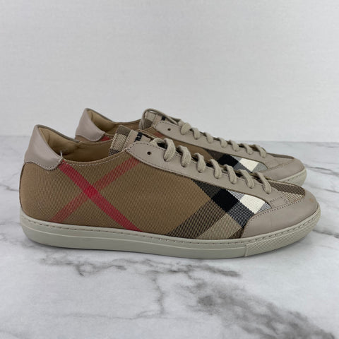 Burberry House Check Low Top Hartfields Sneakers Size 39