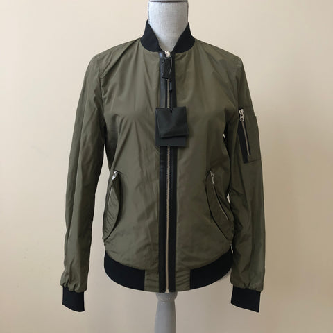 Mackage Army Green Verena Jacket Size XS