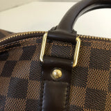 LOUIS VUITTON KEEPALL BANDOULIÈRE 55 Damier Ebene Canvas