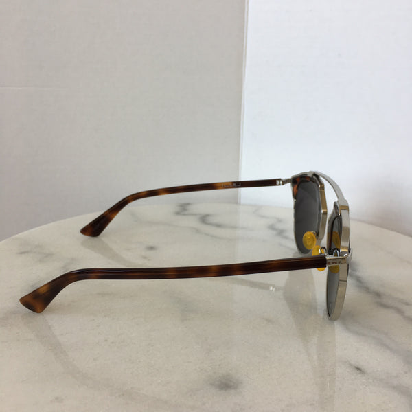 Dior SoReal Havana/Silver Mirrored Sunglasses