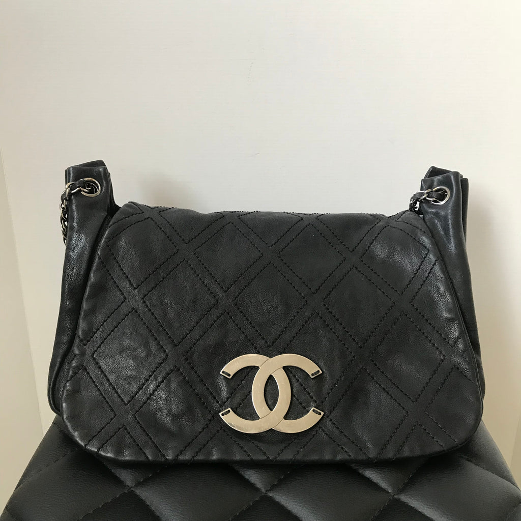 ?diamond Chanel flap bag recommendations to wear in autumn in 2019