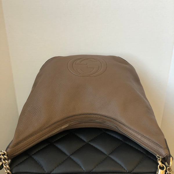 Gucci Brown Soho Chain Shoulder Bag