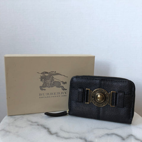 Burberry Chocolate Brown Wallet