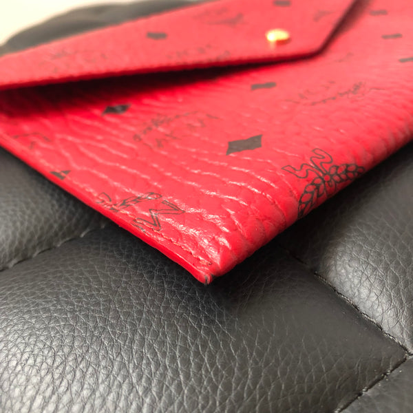 MCM Red Pouch