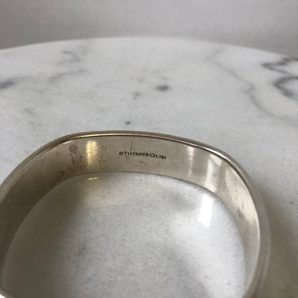 Tiffany Wide 1837 Silver Bangle