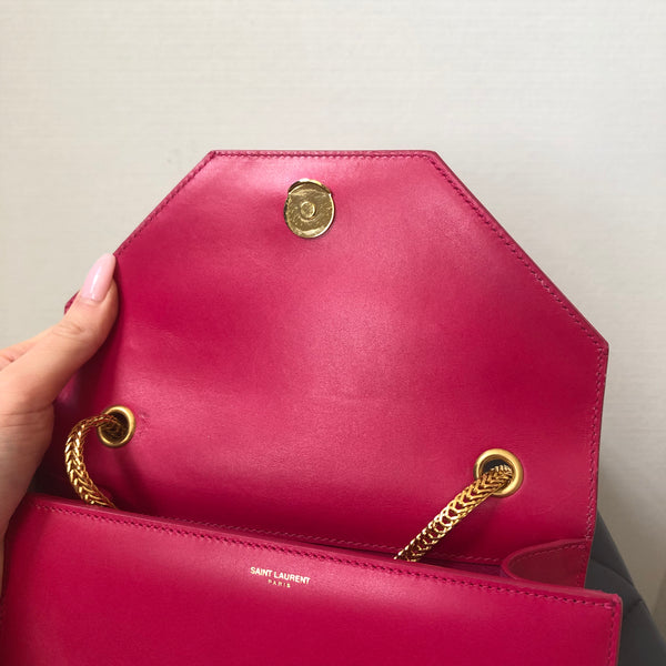 Saint Laurent Pink Small Betty Crossbody Bag