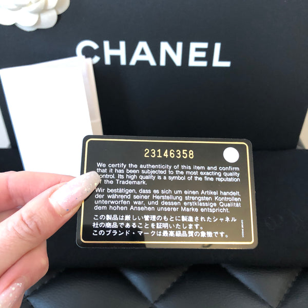 Chanel Red Caviar New Medium Boy Bag