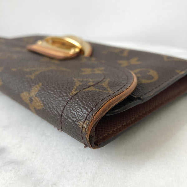LOUIS VUITTON Monogram Canvas Eugenie Wallet