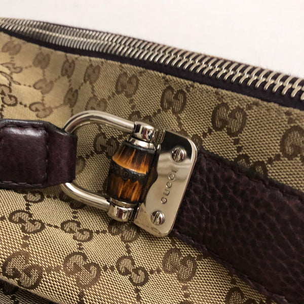 Gucci Large Monogram Shoulder Bag