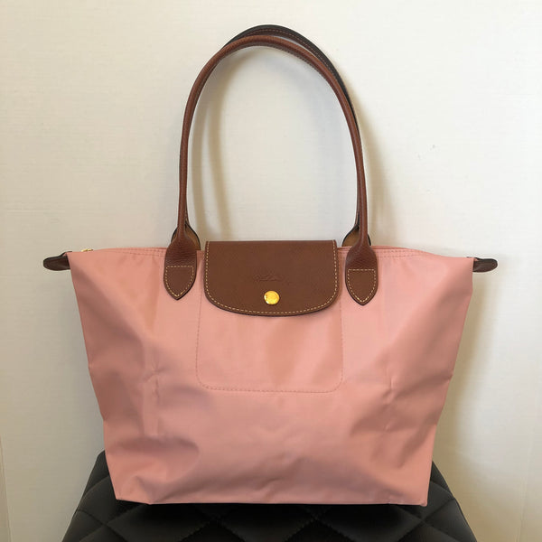 Longchamp 'Small Le Pliage' Pink Tote